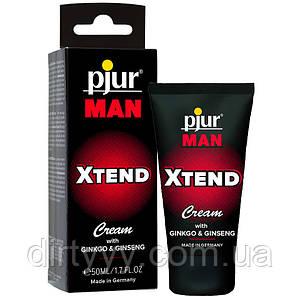Крем для пениса массажный - Pjur MAN Xtend Cream, 50 ml