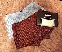 Набор мужские трусов Ellen (2шт). Шорты в мелкий узор, фото 1