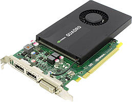 Видеокарта PNY Quadro K2200 4GB VCQK2200-PB (F00149357)