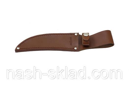 Нож нескладной для охоты, + кожаный чехол, фото 2
