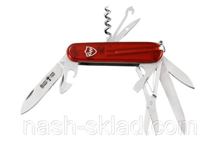 Нож многофункциональный 14в1 для отдыха, фото 2