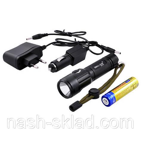Мощный фонарик для охраны Small Sun T6 , фото 2