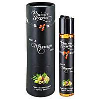 Массажное масло - Plaisirs Secrets Exotic Fruits, 59ml