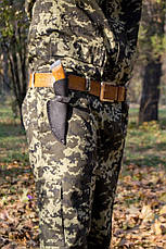 Нож охотничий Ни пуха, Ни пера (Ручная работа), кожаный чехол в комплекте, фото 2