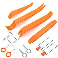 Набір інструментів для зняття обшивки автомобіля, 12 предметів