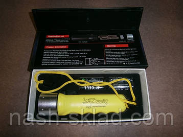Подводный фонарь для охоты или дайвинга на аккумуляторе police PF 03-2000W Lum, фото 2