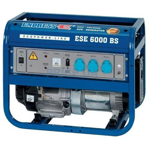 Однофазный бензиновый генератор ENDRESS ESE 6000 BS ES (5.5 кВт) + набор колес