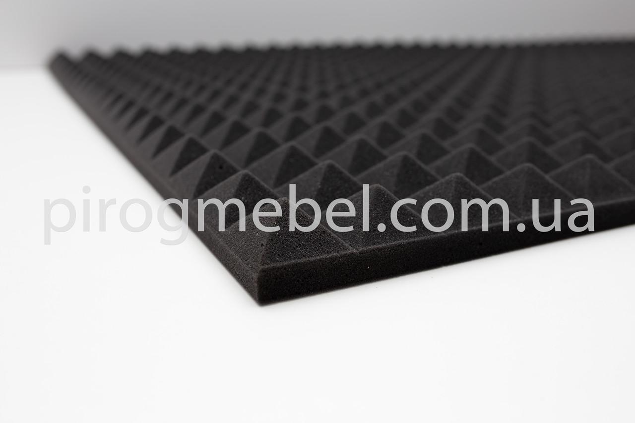 "Шумоизоляция ""пирамида"" 200 см* 100 см ;40 мм"