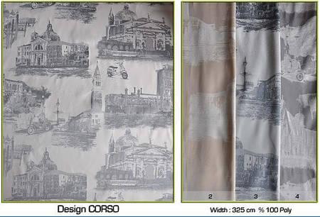 Ткань для штор Corso