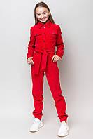 Стильный модный велюровый комбинезон для девочек 134-164 рост, фото 1