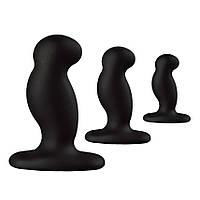 Набор массажеров простаты - Nexus Anal Starter Kit, цвет: черный