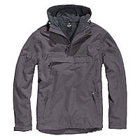 Куртка ветровка Brandit Windbreaker ANTHRAZIT L Темно-серый 3001.5-L, КОД: 705722