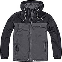Куртка Brandit Windbreaker Harris 2-col 9406 M Black-Anth, КОД: 1322284