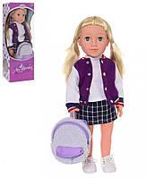 Кукла LimoToy M 3925 Софи UA 48 см, КОД: 1318986