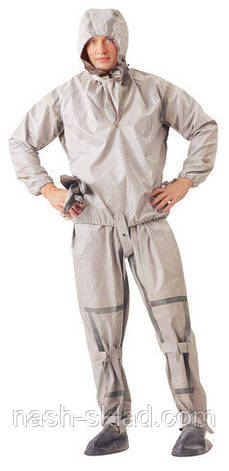 Рыбацкий костюм ОЗК, армейский костюм Л1, оригинал,водонепроницаемые, размер 40-42, фото 2