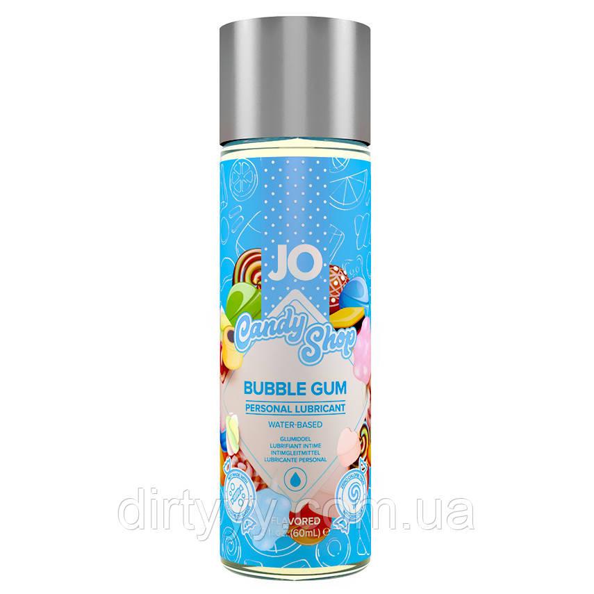 Лубрикант на водной основе - System JO H2O - Candy Shop Bubblegum, 60ml