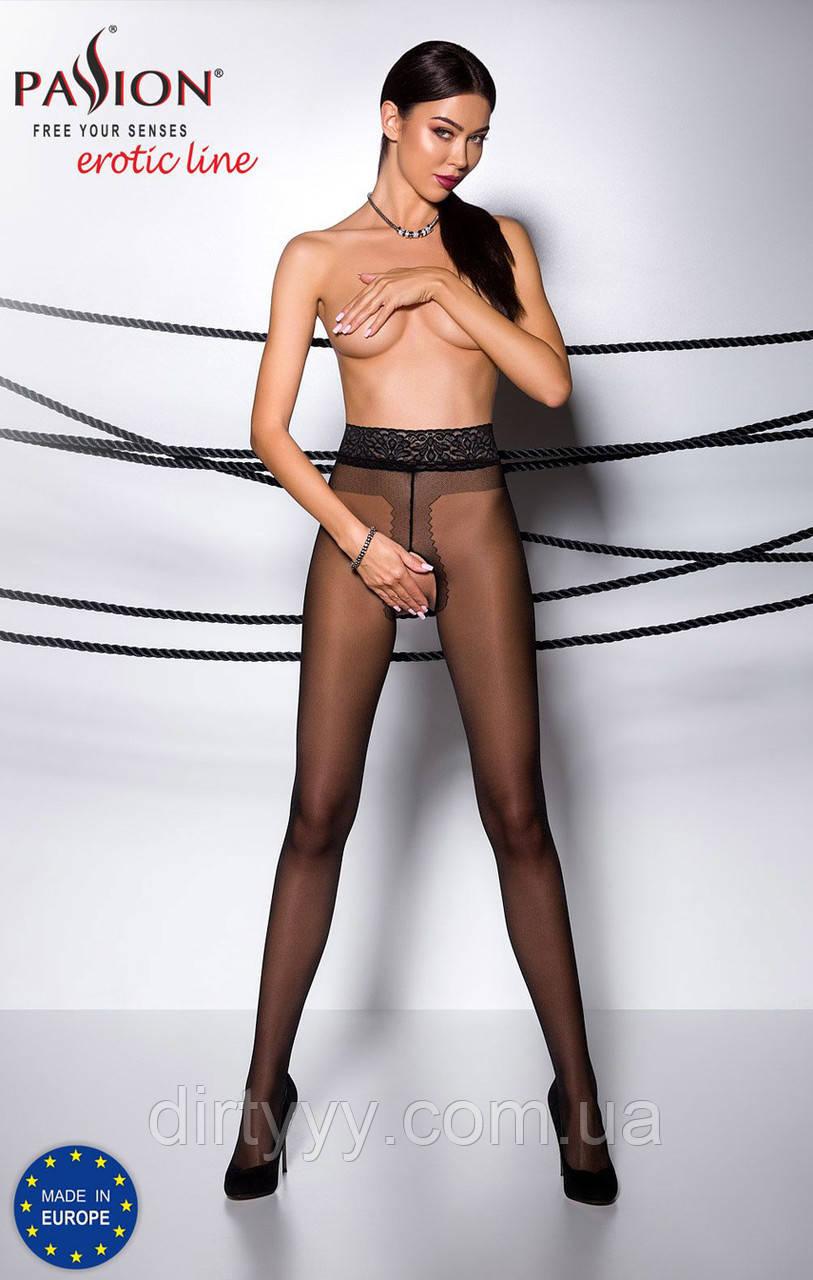 Эротические колготки - TIOPEN 001 nero(20 den), цвет: черный