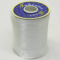 Косая бейка Super 3001 атласная 1.5 см х 100 м Белая Bios-3001, КОД: 1314917