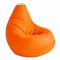 Кресло мешок SOFTLAND Груша стандартный взрослый XL 120х90 см Оранжевый SFLD39, КОД: 1310506
