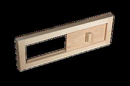 Задвижка вентиляционная для бани Tesli 365x125 мм LS-009, КОД: 1164617