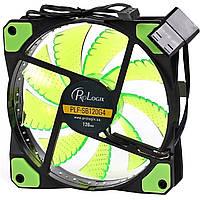Вентилятор ProLogix 120х120х25 мм 32 3+4pin Green 2561-8525, КОД: 1174721