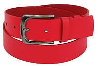 Ремень женский из кожи ширина 4 см Cavaldi Красный Pd44 red, КОД: 1299905