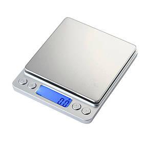 Ювелирные электронные весы Спартак 1729 с 2мя чашами 0,1 - 3000 грамм (3кг) (2614)