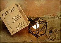 Напольная лампа из стальных прутьев в подарочной упаковке, фото 1