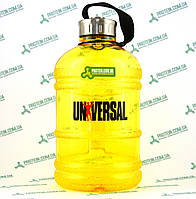 Бутылка Фляга Universal UN Gallon Water Bottle Hydrator 1,9 л желтая