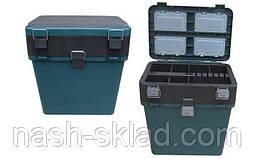 Ящик для зимней рыбалки Тонар, ОРИГИНАЛ, ПОДАРОК РЫБАКУ, в наличии 3 цвета, фото 3