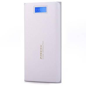 Внешний аккумулятор Power bank 40000 mAh Pineng PN-920 White (3303)