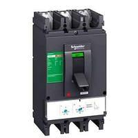 EZCV250N3080 Автоматический выключатель со встроенным УЗО EZCV250N. Iн = 80 Ампер. 380В. 3 полюса. 25 кА. серии Easypact. Schneider Electric,,