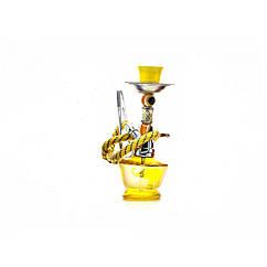 Кальян Huka 17 см Желтый DN23925, КОД: 718087