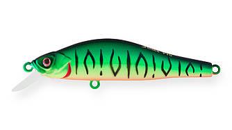 Воблер Минноу Strike Pro Archback 60SP, 60 мм, 4,4 гр, Загл. 0,2м.-0,5м., Нейтральный, цвет: GC01S Mat Tiger,