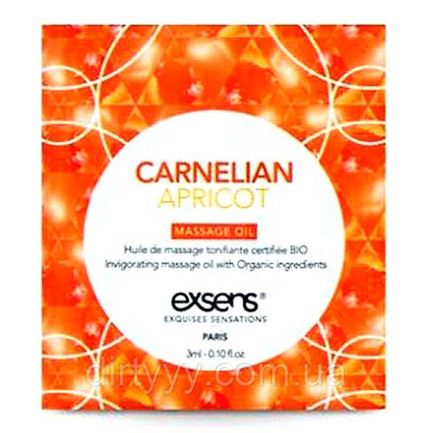 Пробник массажного масла - EXSENS Carnelian Apricot,  3ml