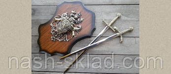 Панно рыцарское, оригинальный подарок для любителя старины, фото 2