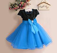 Детское яркое нарядное  платье, 8 расцветок, фото 1