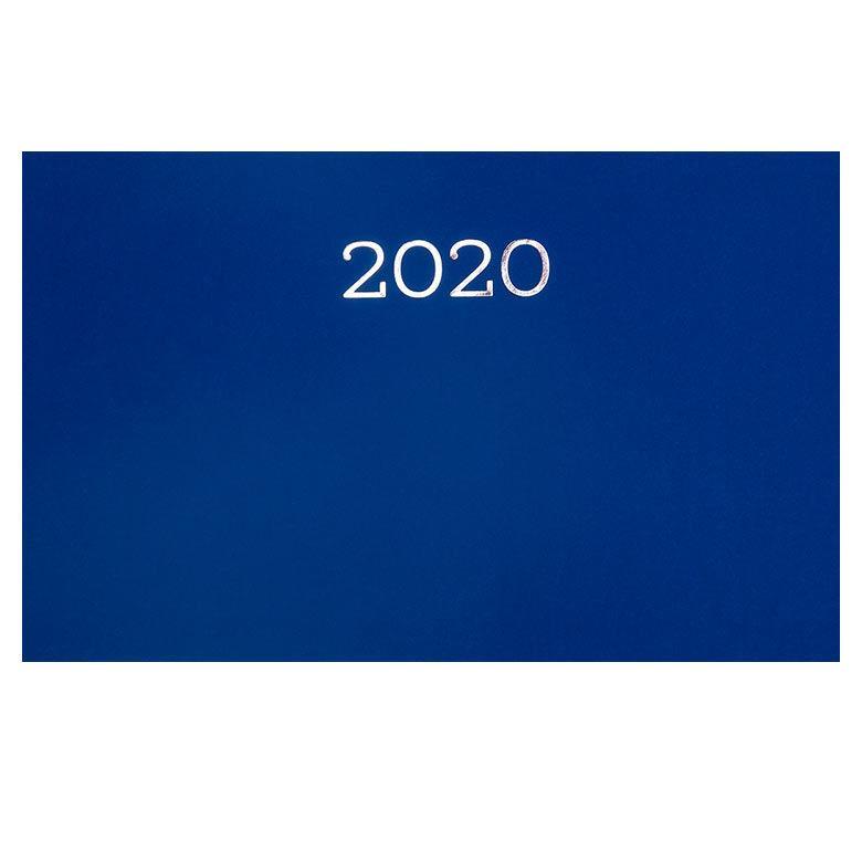 Еженедельник  2020 Buromax 9*15,5см карманный Monochrome BM.2792_Синий