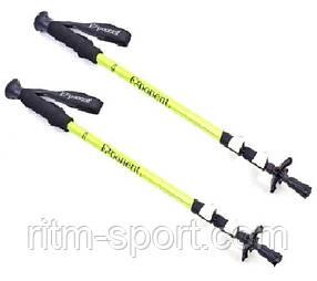 Трекинговые палки Exponent (для скандинавской ходьбы) deralumin 6061
