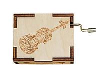 Музыкальная шкатулка Ben Wooden из дерева ручной работы For Elise BW2020, КОД: 1333917