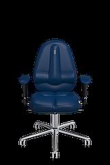 Эргономичное кресло KULIK SYSTEM CLASSIC Синее 1204, КОД: 1335559