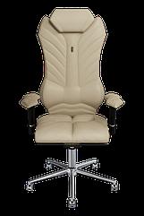 Эргономичное кресло KULIK SYSTEM MONARCH Бежевое 203, КОД: 1335580