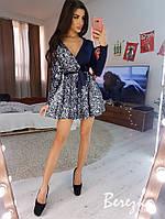 Платье с пышной юбкой и пайеткой на одной стороне 6803635E