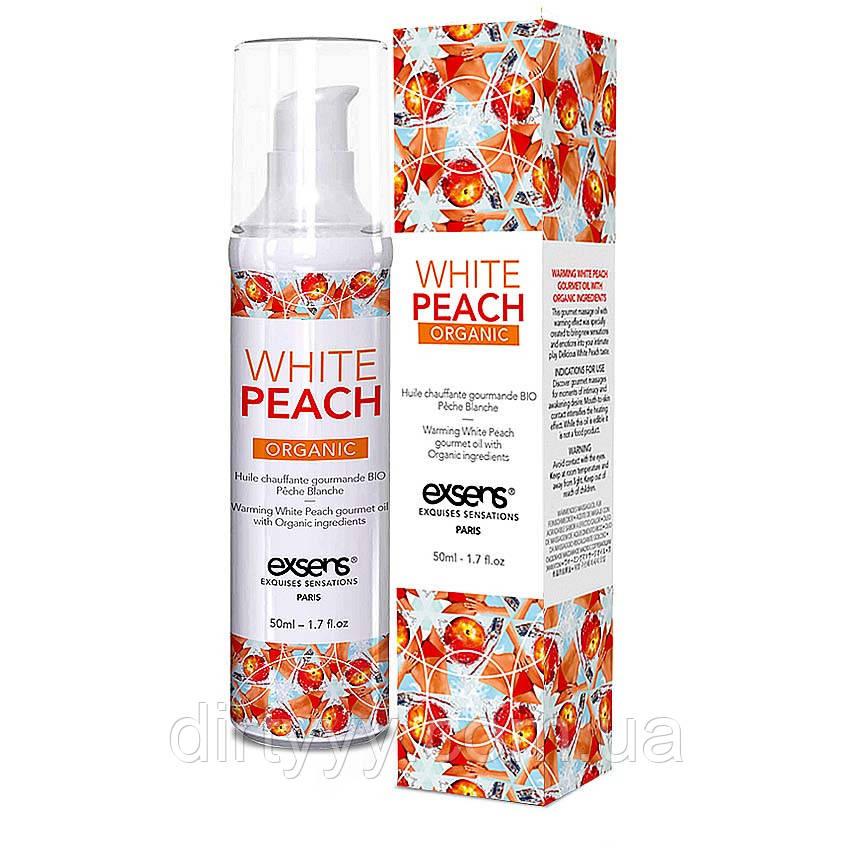 Массажное масло EXSENS Organic White Peach, 50ml