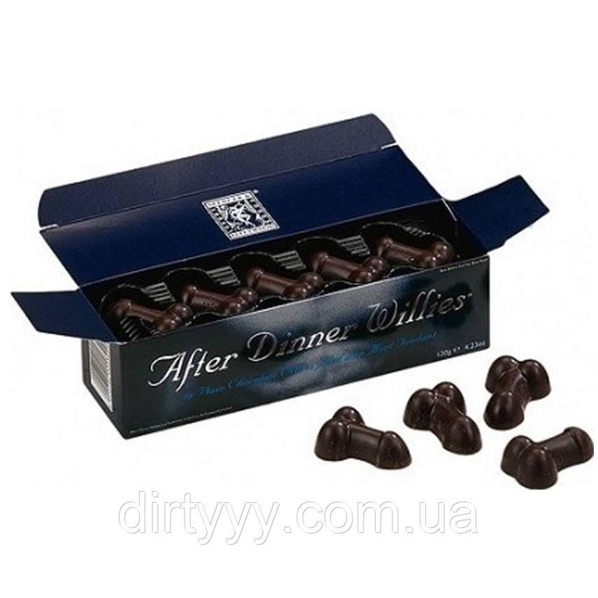 Набор шоколадных конфет с начинкой - After Dinner Willies (80 гр)