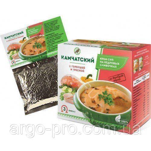 Крем-суп «Камчатский» с горбушей и треской Арго (для сердца, сосудов, Омега 3, иммунитет, витамины, минералы)