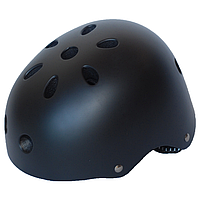 Детский велосипедный шлем универсальный SmartWorld FT-01-2 46-52 см Черный 80840235, КОД: 212425