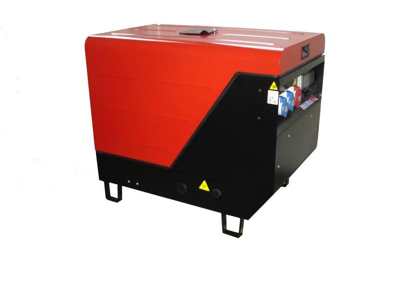 Однофазный дизельный генератор ENDRESS ESE 1006LS-GT ISO Diesel (7,5 кВт)