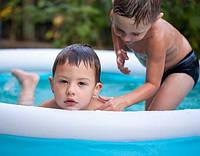 Семейный наливной бассейн от Intex