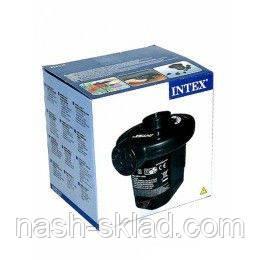 Насос електрический Intex, для всех надувных изделий фирм Intex, BestWay., фото 2